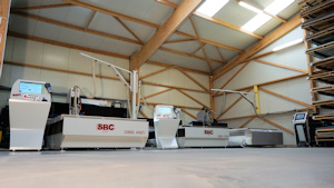 Photo of the new third machining center 4050 x 2050
